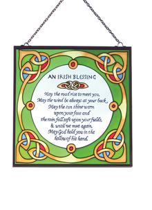 Irish Blessing Suncatcher