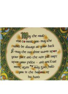 Traditional Irish Blessing 8 Inch Plate