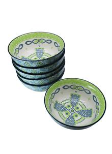 Celtic Cross Bowls Set of 6