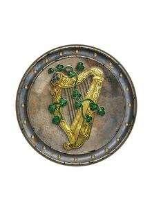 Irish Harp Placemats Set of 4