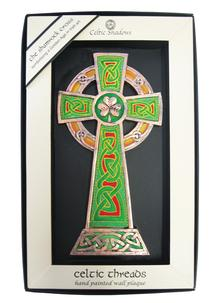 Celtic Threads High Cross Plaque