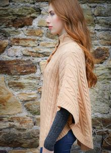 Ladies Lambswool Cape