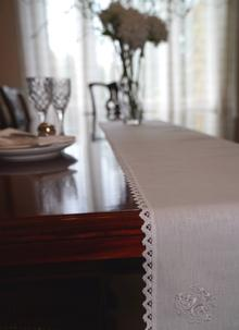 Celtic Tree Linen Table Runner
