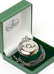 Celtic Claddagh Pocket Watch