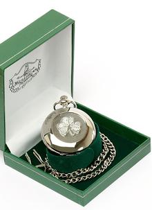 Celtic Shamrock Pocket Watch