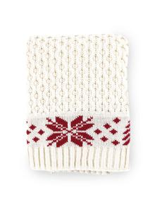 Aran Christmas Throw