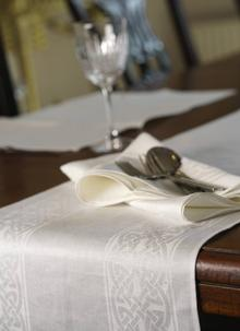 Colmcille Linen Table Runner