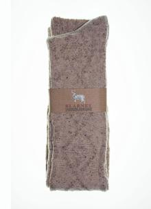 Ladies Aran Knee-High Socks
