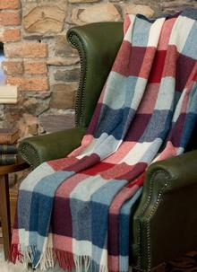 Blarney Holiday Wool Throw
