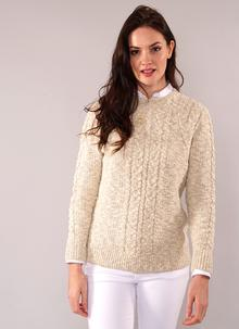 Moira Cotton Linen Sweater Natural
