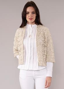 Ciara Cotton Linen Cardigan Natural