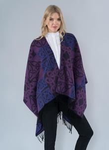 Jimmy Hourihan Celtic Wrap in Purple