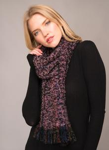 Mucros Mohair Scarf Heather