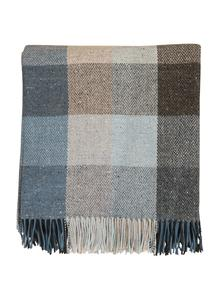 Denim Donegal Tweed Throw