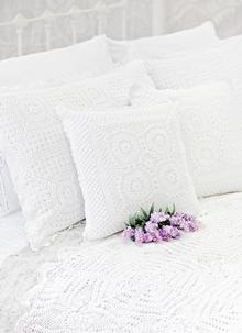 Crochet Cushion Cover Set of 2