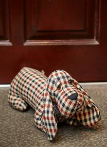 Fergus the Basset Hound Doorstopper