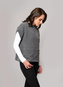 c0f0af7d27 Fisherman Lambswool Aran Cable Sweater