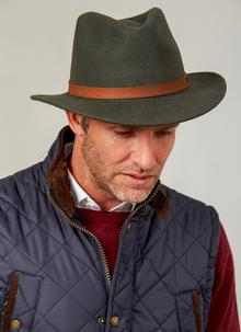 Gents Crushable Blarney Fedora Hat