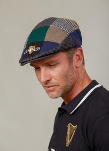 a6f35db7dc6ac Guinness Patch Flat Cap ...