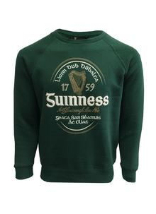 Guinness Irish Label Green Sweatshirt