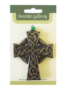 High Cross Bronze Ornament