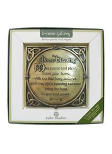 Home Blessing Bronze Plaque