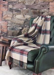 Blarney Traditional Lambswool Throw