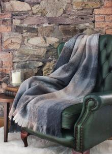 Blarney Mohair & Merino Wool Throw