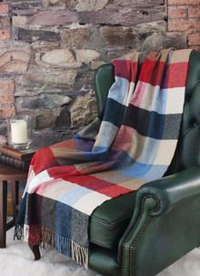 Blarney Multicolor Lambswool Throw