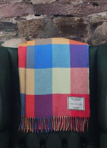 Blarney Heritage Multi Herringbone Throw