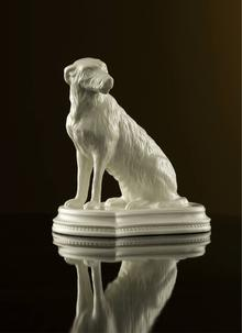 Belleek Classic Irish Wolfhound Figurine