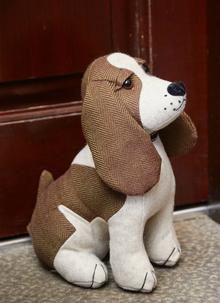 Jimmy the Springer Spaniel Doorstopper
