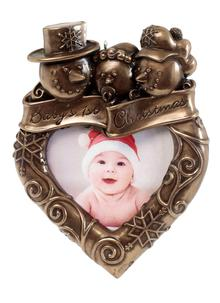 Baby's First Christmas Frame Ornament