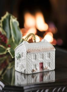 Belleek Classic Kerry Farmhouse Annual Bell Ornament 2018