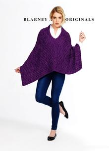 Kerry Honeycomb Aran Cape