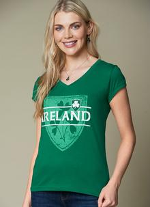 Ladies Exclusive Murphy's Law V-Neck T-Shirt