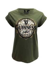 Ladies Guinness Gradient Flock T-Shirt