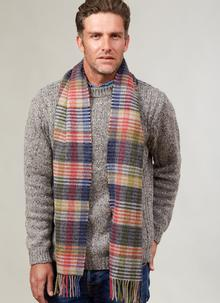 Lambswool Scarf Multicolor Stripe