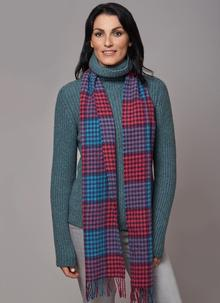 Women's Scarves - Tartan Check, Celtic, Infinity, Honeycomb