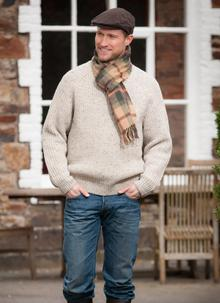 Men's Lambswool Scarf