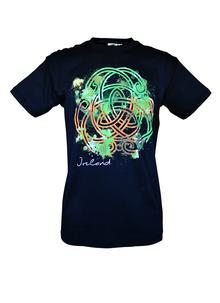 Men's Black Celtic Knot T-Shirt