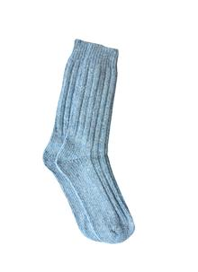 Men's Wool Socks Blue Gray Navy