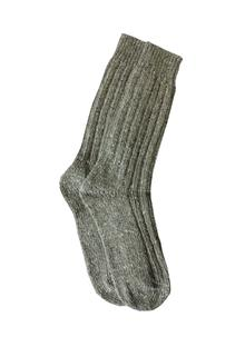 Men's Wool Socks Moss Natural Gray