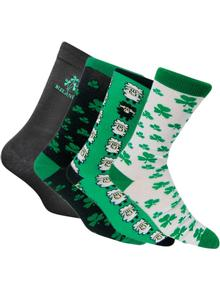 Set of 4 Men's Irish Socks