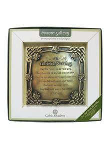 Old Irish Blessing Bronze Plaque