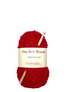 One Ball Wonder Crochet Cherry