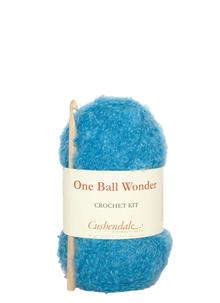 One Ball Wonder Crochet Turquoise