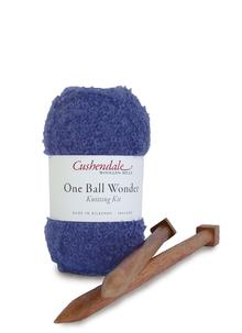 One Ball Wonder Knitting Kit Violet