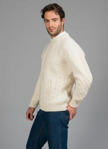 Oran Patchwork Aran Sweater