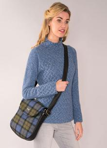 Mucros Orla Tweed Satchel Bag